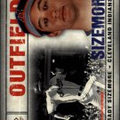 2008 SP Legendary Cuts 34 Grady Sizemore