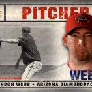 2008 SP Legendary Cuts 96 Brandon Webb