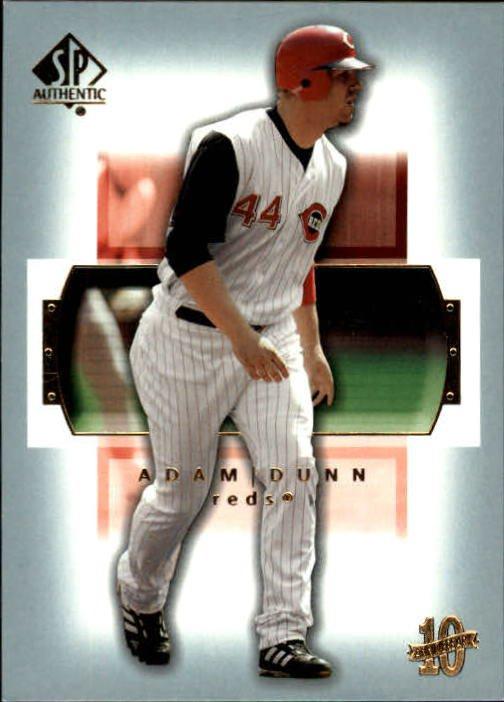 2003 SP Authentic 87 Adam Dunn