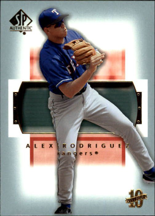 2003 SP Authentic 21 Alex Rodriguez