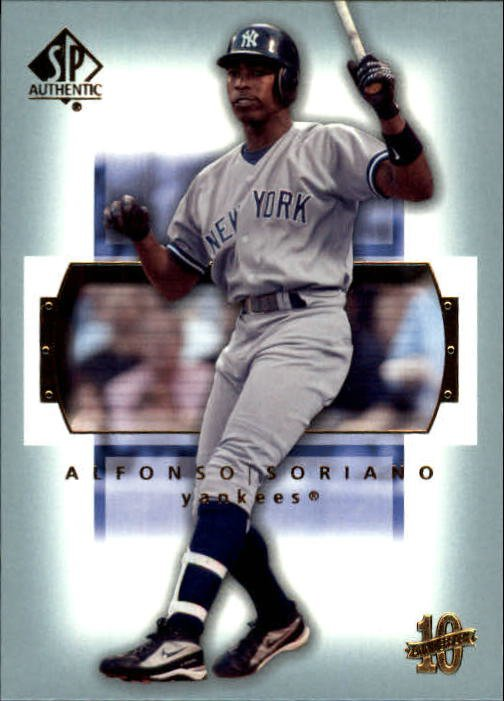 2003 SP Authentic 42 Alfonso Soriano