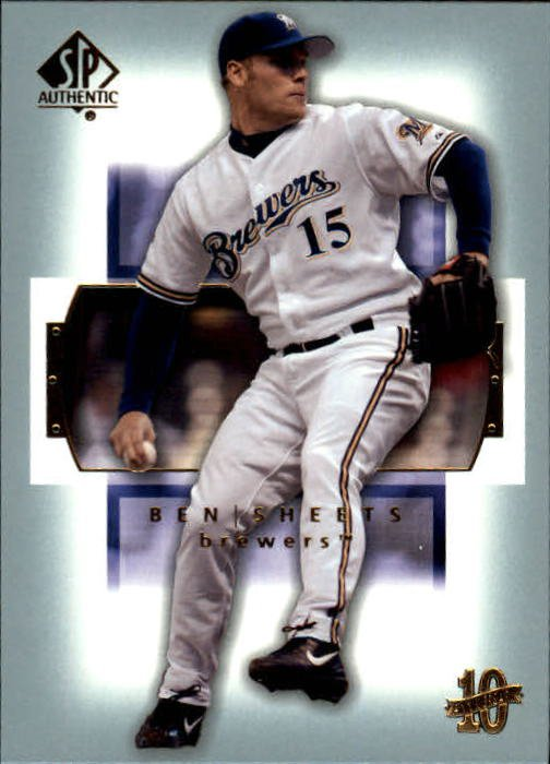 2003 SP Authentic 50 Ben Sheets