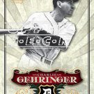 2006 SP Legendary Cuts #89 Charlie Gehringer