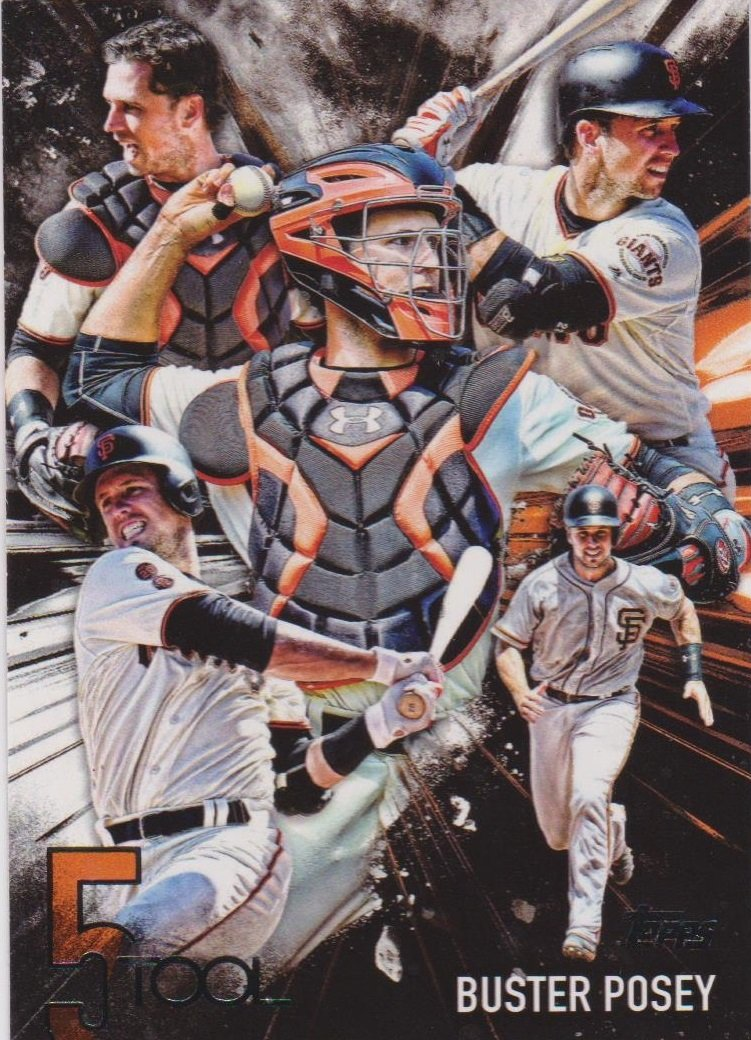 2017 Topps Five Tool 5T15 Buster Posey