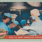 2017 Topps Heritage News Flashbacks NF11 First U.S. Heart Transplant