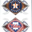 2017 Topps Stickers 143 Houston Astros/161 Philadelphia Phillies