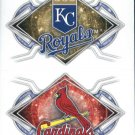 2017 Topps Stickers 144 Kansas City Royals/162 St. Louis Cardinals
