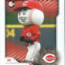 2017 Topps Stickers 292 Mr. Red/Mascot