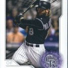2017 Topps Stickers 295 Charlie Blackmon