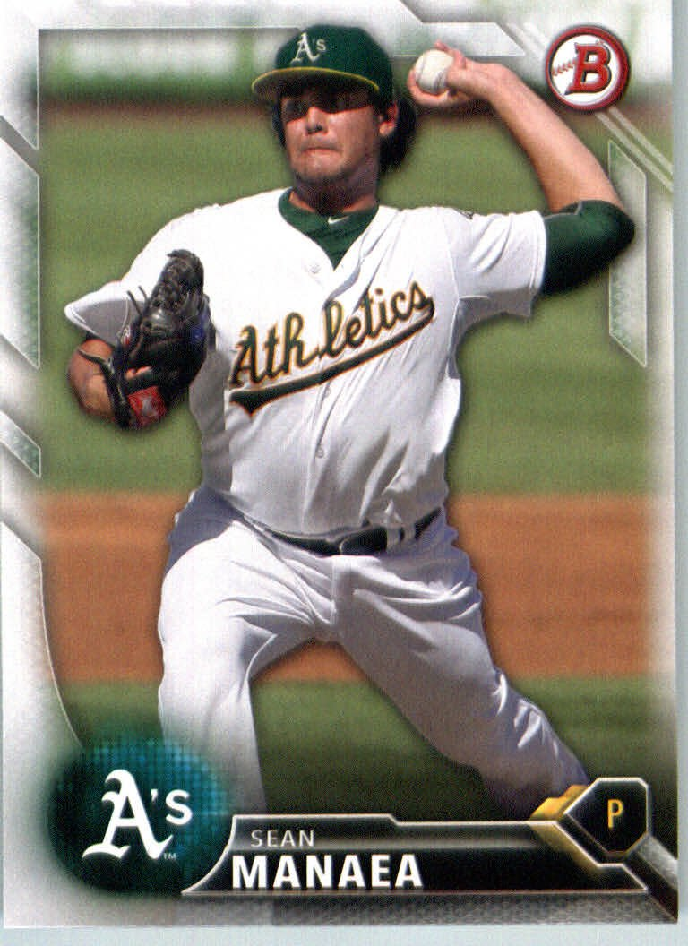 2016 Bowman Prospects BP130 Sean Manaea