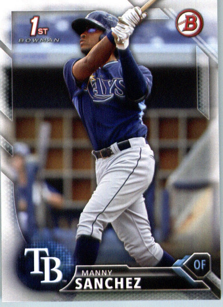 2016 Bowman Prospects BP28 Manny Sanchez