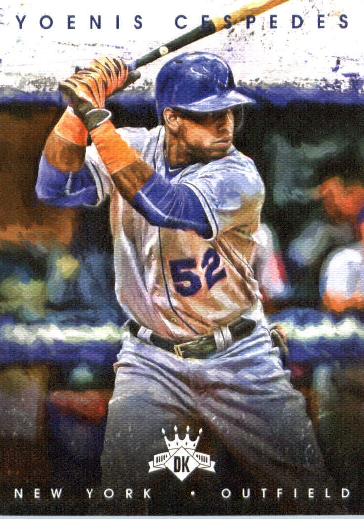 2016 Diamond Kings 105 Yoenis Cespedes