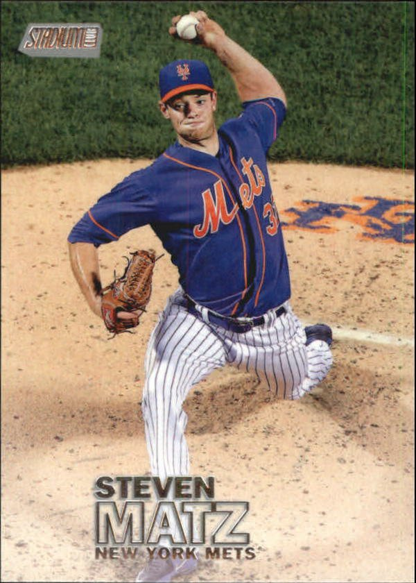 2016 Stadium Club 26 Steven Matz