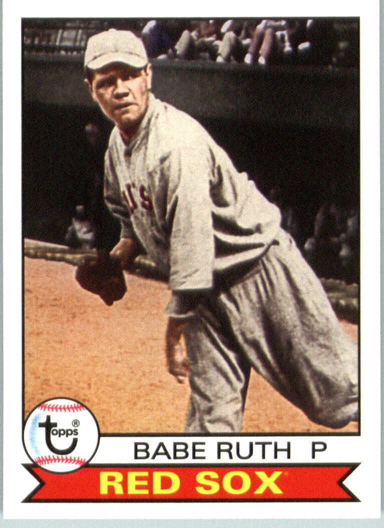 2016 Topps Archives 101 Babe Ruth