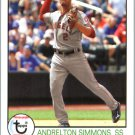 2016 Topps Archives 175 Andrelton Simmons
