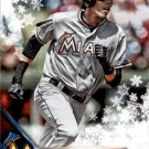 2016 Topps Walmart Holiday Snowflake HMW186 Christian Yelich