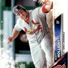2016 Topps Walmart Holiday Snowflake HMW16 Matt Holliday