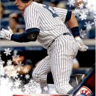 2016 Topps Walmart Holiday Snowflake HMW20 Alex Rodriguez