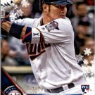 2016 Topps Walmart Holiday Snowflake HMW22 Byung Ho Park