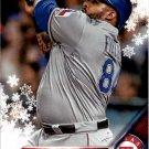 2016 Topps Walmart Holiday Snowflake HMW91 Prince Fielder