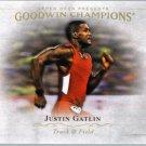 2016 Upper Deck Goodwin Champions 71 Justin Gatlin