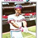 1977 Topps 196 Len Randle