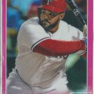 2015 Topps Chrome Pink Refractor 12 Prince Fielder