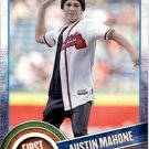 2015 Topps First Pitch FP07 Austin Mahone