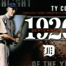 2015 Topps Highlight of the Year H31 Ty Cobb