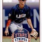 2015 USA Baseball Stars and Stripes 45 Jack Flaherty
