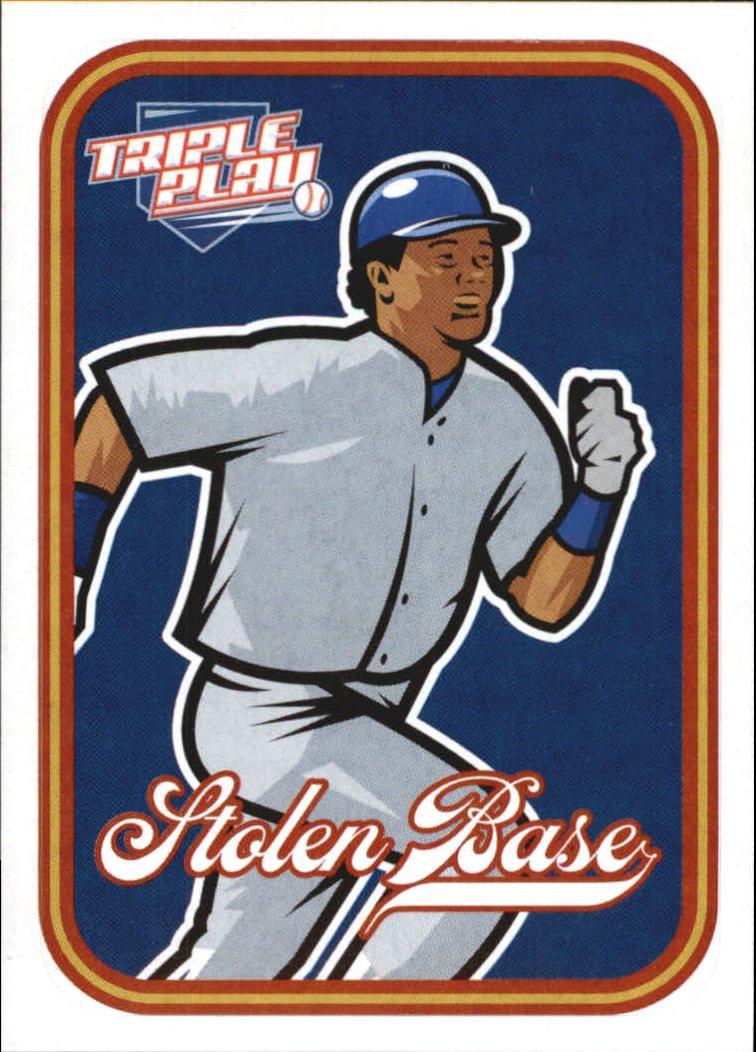 2012 Triple Play Stickers 15 Stolen Base