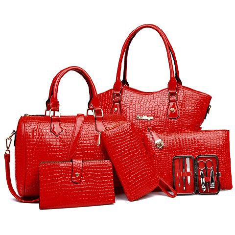 BAG SET RED