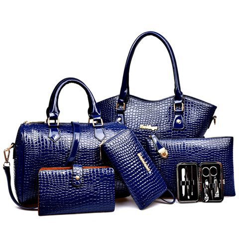 BAG SET DEEP BLUE