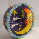Chinese 1/2 Moon Folding Lantern with Stars MAGICAL