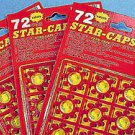 8 SHOT STAR RING CAPS 4 CARDS CAP GUN