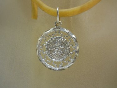 PENDANT CHARM CRAFTED 925 SOLID STERLING 925 SILVER n396
