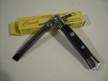 NOVELTY SWITCHBLADE COMB TOY SWITCH BLADE