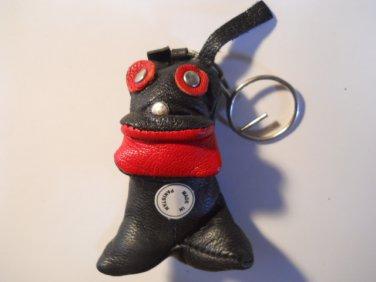 Leather Animal Keychains Keyrings Belt Clips
