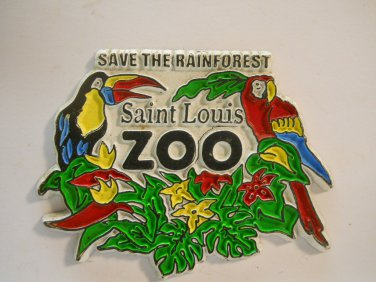 Saint Louis Zoo Collectible Refrigerator Magnets