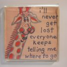 Giraffe Collectible Refrigerator Magnets