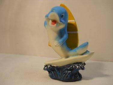 Whimsical Character Dolphin, Beach Board Dolphin #791