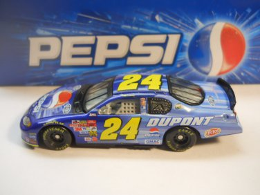 Nascar Jeff Gordon #24 DuPont  Pepsi  & Collectible Tin Set 1/64