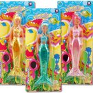 Toy Mermaid colorful Doll in 3 Asst Colors