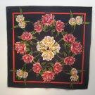 Roses Floral Bandana Head Wrap Scarf