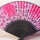 Roses with Hearts Silk Handheld hand Fan Folding Fans Asian Hand Fan #Fan163