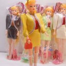 Vintage I Love Lucy Doll with Doll Stand + Accessories Children Pretend Play Toy