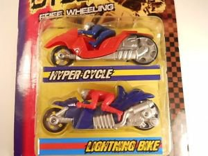 2 Pc Extreme Toy Cycles in 2 different colors Motorcycles