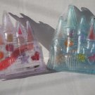 Castles Lip Gloss with Accessories 2  Diff Colors  2 pc Lot Set  #Cmts20