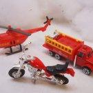 Fire and Emergency Toy play set vintage set Edit item   Reserve item