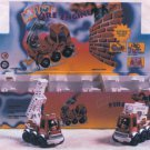 Fire Engine Fire Truck Pull Back Action DieCast Ty040